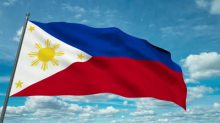 stock-footage-philippines-flag-waving-against-time-lapse-clouds-background