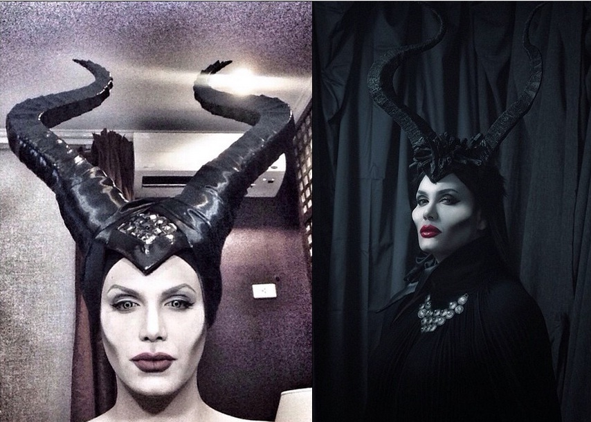 Paolo ballesteros makeup transformation maleficent