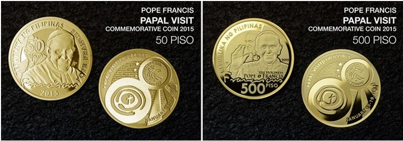 BSP Sells Pope Francis Commemorative Coins