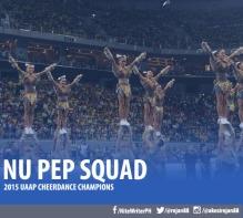 NU Pep squad UAAPCDC 2015