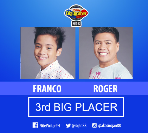 3rd big placer